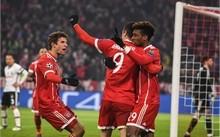 """Thắng """"5 sao"""", Bayern đặt một chân vào tứ kết"""