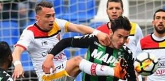 Sassuolo vs Benevento